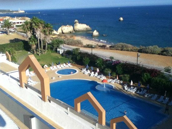 Hotel Luar: View from sharing balcony 5th floor