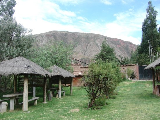 Arco Iris del Puente Lodge: Der Garten
