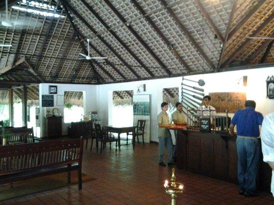 Marari Beach Resort : reception