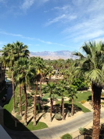 Hyatt Regency Indian Wells Resort & Spa: view from our room