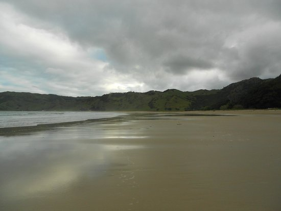 Peaceful - usually - on beach at Anaura Bay