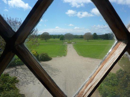 Malahide Castle, View From The Oak Room