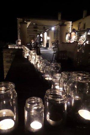 Kinsterna Hotel: More wedding romance...