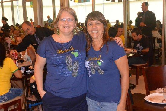 Gilson's Brazillian Restaurant: Encontrei uma amiga