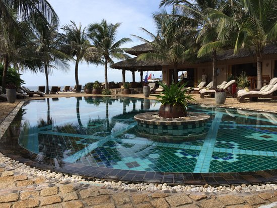 Mia Resort Mui Ne: Breakfast in Sandals Restaurant