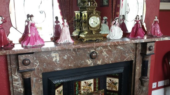 Barbican House: Marble Fireplace