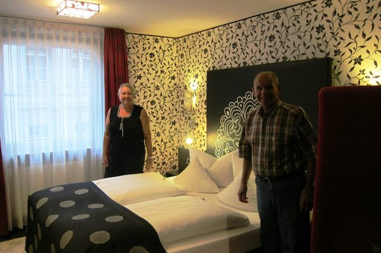 Hotel Sonne : One of our rooms.