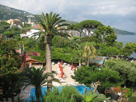 Grand Hotel Ambasciatori: view from room balcony