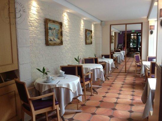 Hotel Boileau : Salle Petit Déjeuner