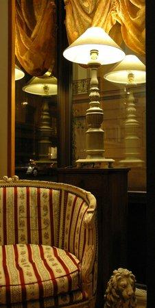 Hotel Boileau : Salon