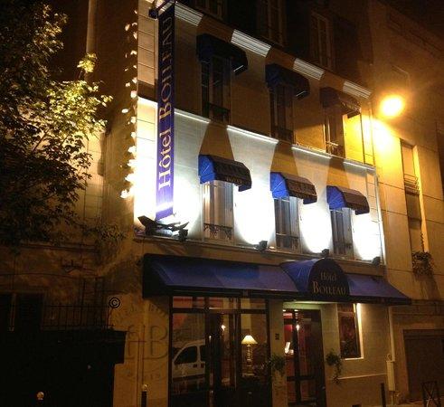 Hotel Boileau : Façade Nuit