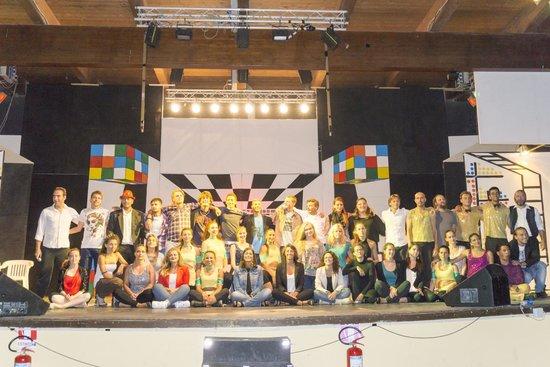 Serenusa Village : L'Equipe d'animazione al completo