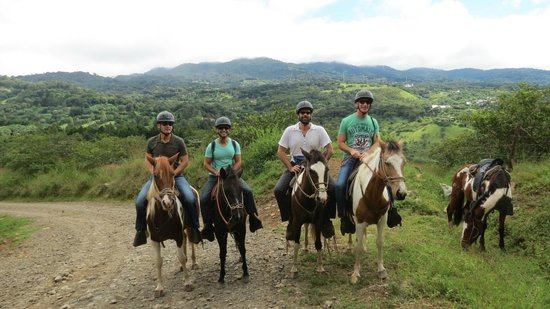 Riding Sabine's Smiling Horses