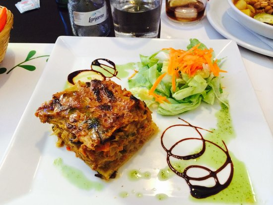 Vegetariano El Calafate: Quiche vegetal