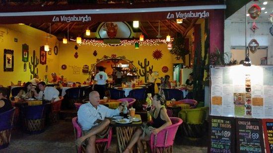 La Vagabunda : Locale