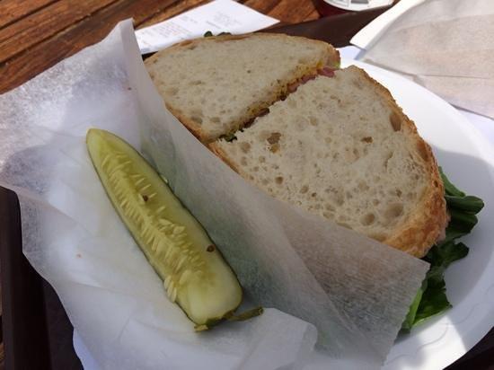 Erick Schat's Bakkery: boterham met verse rosbief