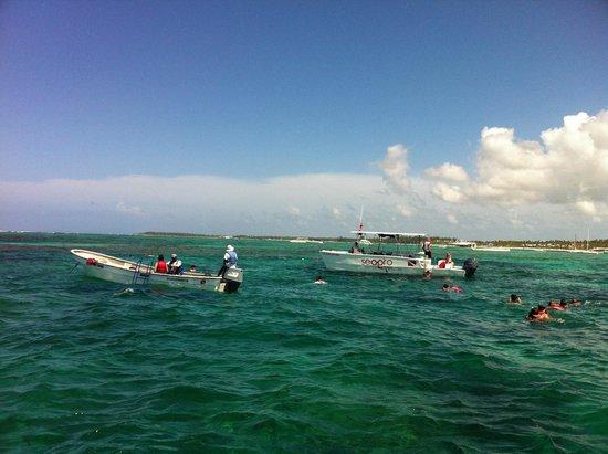 Ocean Adventures Bavaro Splash: Where we stop!