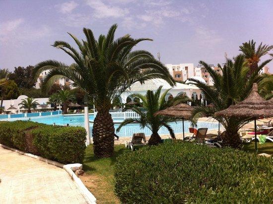 Hotel Club President: La piscine avec petite cascade ! Une collation est distribuée les après-midi que du bonheur