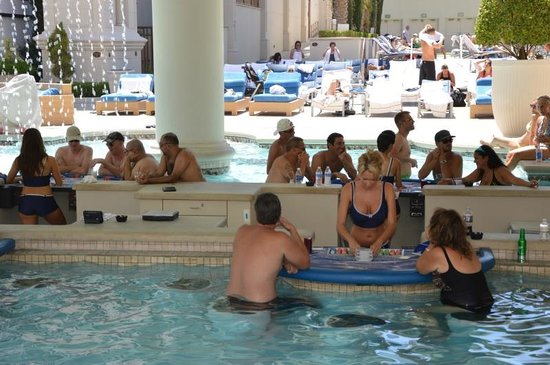 Caesars Palace: Complesso piscine