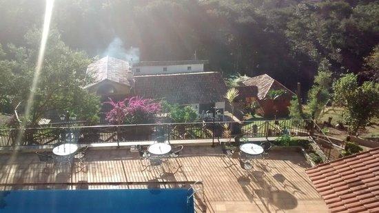 Vista da Serra: Foto da Piscina e da sede