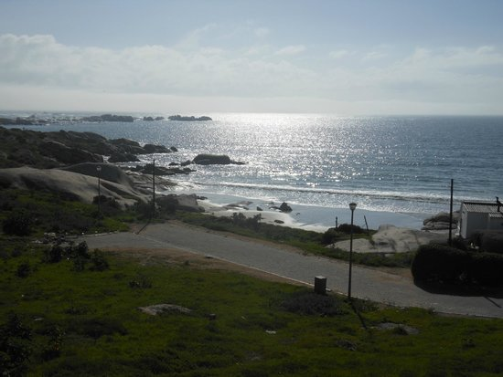 Paternoster Cottages : view from the house