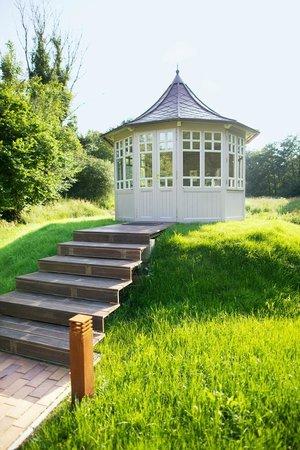 Schön Hotel Waldschloesschen: Kräuterpavillon U0026 Teehaus Im Garten Spa
