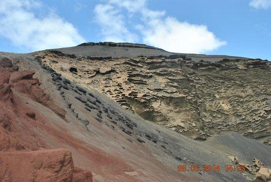 El Lago Verde: Formacje skalne
