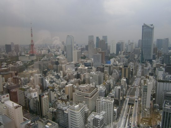 Park Hotel Tokyo : vista dalla camera