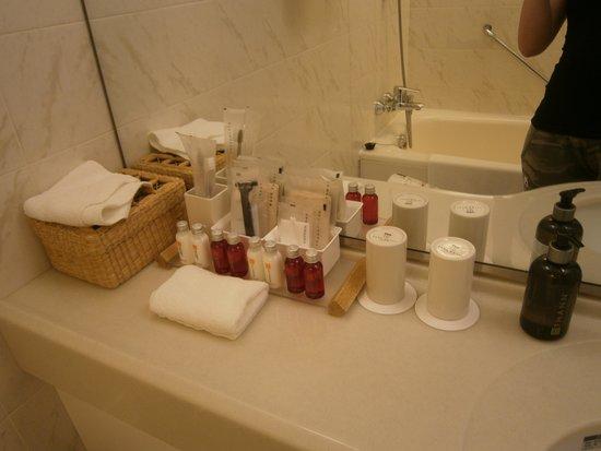 Park Hotel Tokyo : accessori bagno