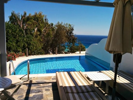 Myconian Ambassador Relais & Chateaux Hotel : Private Pool