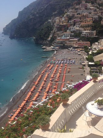 Hotel Marincanto: view from room