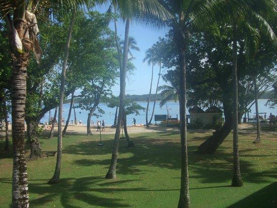 Shangri-La's Fijian Resort & Spa: From the Balcony