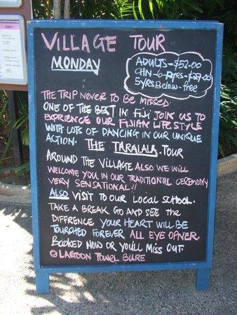 Shangri-La's Fijian Resort & Spa: Village Tour