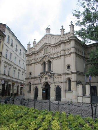 Jewish District (Kazimierz): Temple Synagogue on Miodowa
