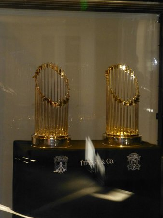 AT&T Park : World Series Thropies 2010 & 2012