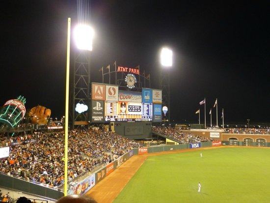 AT&T Park : Scoreboard