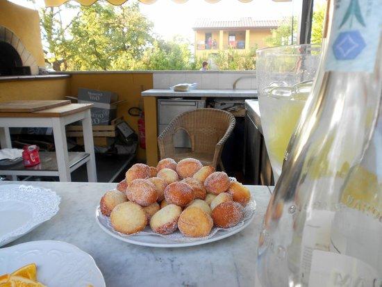Antico Casale: bomboloni