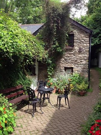 Hele Corn Mill and Tea Room: tea garden