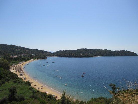 Skiathos Princess Hotel : The beach