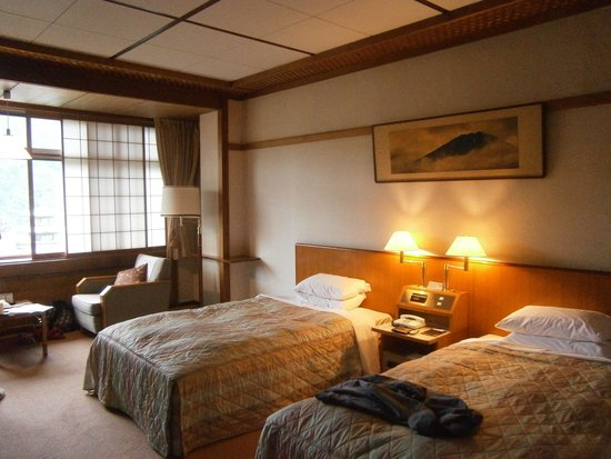 Fujiya Hotel: camera doppia