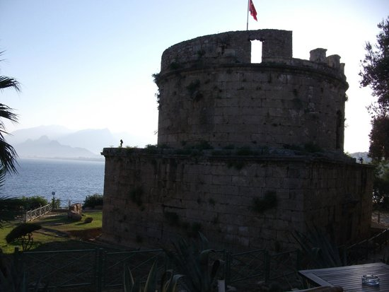 Harbour District/ Antalya Marina: Old Fortress in Harbour