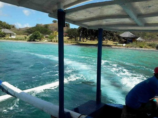 Pearl Beach Resort : from the boat away