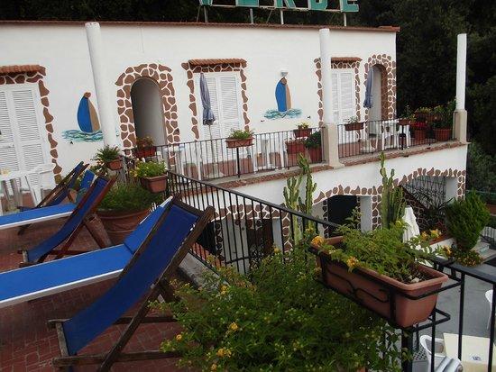 Villa Raffaela : Camere vista mare