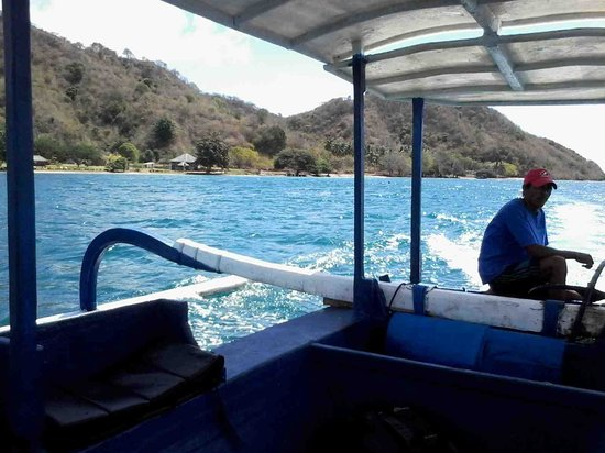 Pearl Beach Resort : from the boat