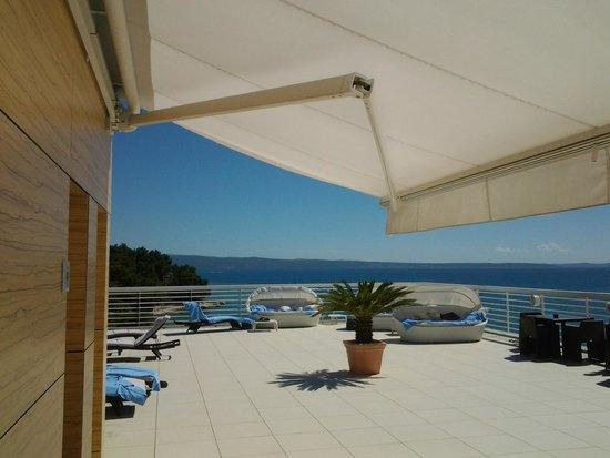 Hotel Split: Terrasse