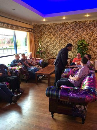 The Silk Route: Relax In The Lounge