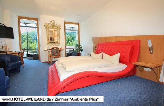 """Hotel Weiland: Gästezimmer Ausstattungsvariante """"Ambiente Plus"""""""