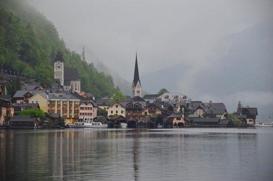 Hallstatt-Dachstein - Salzkammergut Cultural Landscape: 教会の南側から