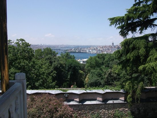 Topkapi Palace: One of the Stunning Views from the Palace