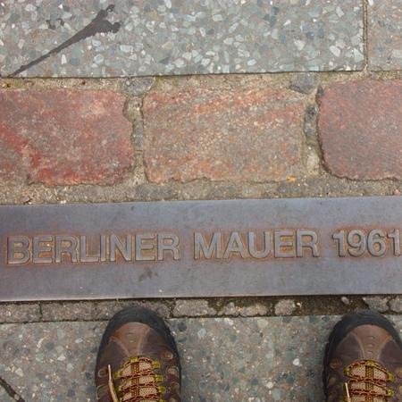 Maritim proArte Hotel Berlin: Muro de Berlim